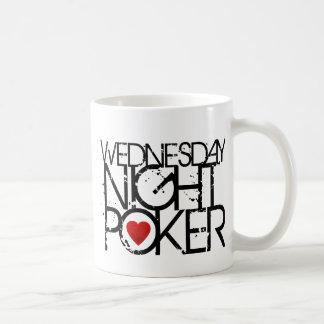 Mittwoch Abend Poker Kaffeetasse