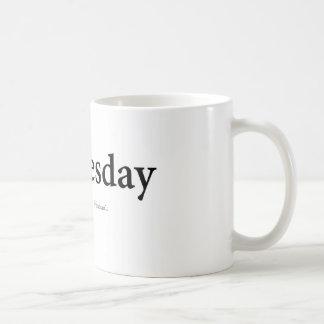 Mittwoch Kaffeetasse