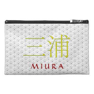Miura Monogramm Reisekulturtasche
