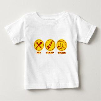 MIXED MARTIAL ARTS essen Schlaf-Zug Baby T-shirt