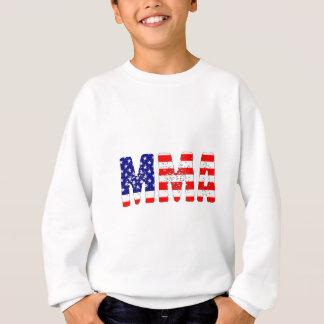 MIXED MARTIAL ARTS-USA-Flagge Sweatshirt