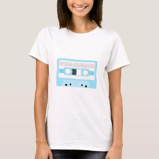 Mixtape T-Stück - hellblauer Pastell T-Shirt