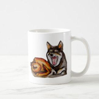 Miya der hangry Hund Kaffeetasse