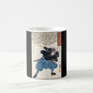 Miyamoto Musashi, das C. 1800's malt Tasse