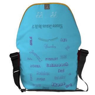 """MMetropolim """"dessen Name es ist? Rickshawtasche Kurier Taschen"""