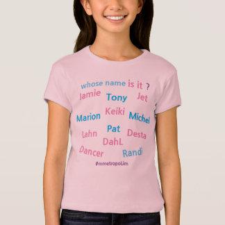 """MMetropolim """"Mädchen Bella Leinwand angepasst T-Shirt"""