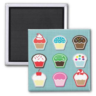Cupcakes Magnete
