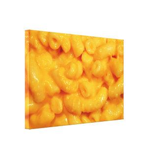 Mmm Makkaroni u. Käse Leinwanddrucke