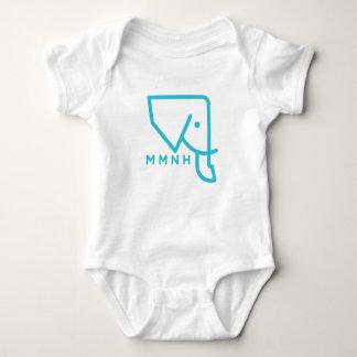 MMNH blauer Elefant-Baby-Spielanzug Baby Strampler
