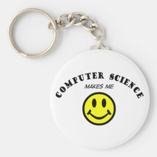 MMS: Informatik Standard Runder Schlüsselanhänger