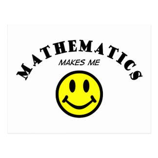 MMS: Mathematik Postkarte