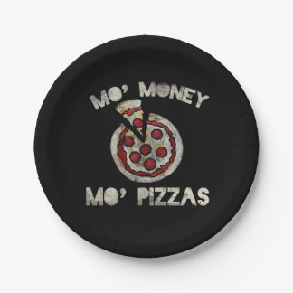Mo Geld-MO-Pizzas Pappteller