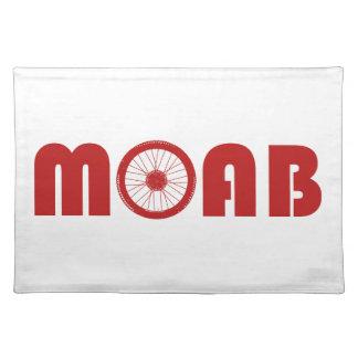 Moab (Fahrrad-Rad) Stofftischset
