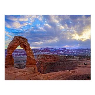 Moab Utah - empfindlicher Bogen - Postkarte
