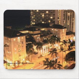 Moana Surfrider Hotel Waikiki Hawaii Mauspads