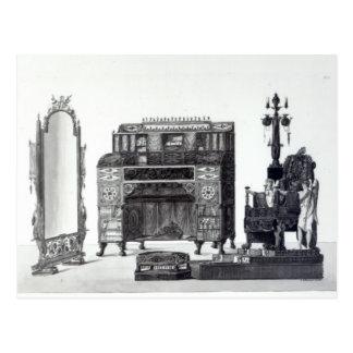 Möbel in der griechischen Art Postkarte
