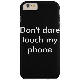mobile Abdeckung, wenn Ihr verwegen seien Sie Tough iPhone 6 Plus Hülle
