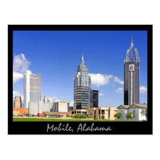 Mobile, Alabama Postkarte