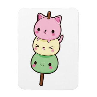 Mochi Eiscreme-Kätzchen Magnet