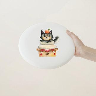 """Mochi Shiba"" HundeAquarell-Illustration Wham-O Frisbee"