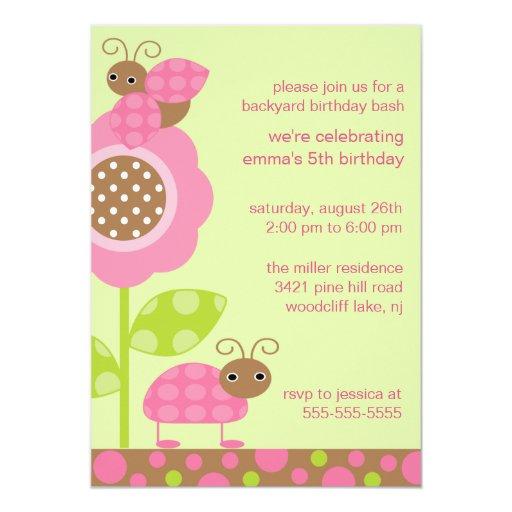 Mod-Baby hört Geburtstags-Einladung ab 12,7 X 17,8 Cm Einladungskarte