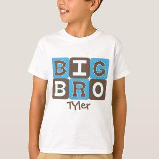 MOD blockiert großes Bro -, die das Blau u. Brown T-Shirt