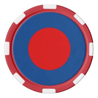 Mod-britische Armee Roundel Poker-Chips Pokerchips