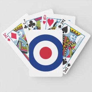 Mod - klassisches Roundel - Bicycle Spielkarten