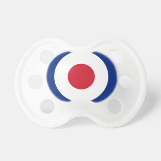 Mod - klassisches Roundel - Schnuller