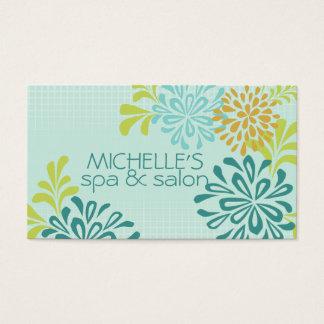 Mod-Mama, Mamas, Chrysantheme-Blumen-moderne Art Visitenkarte