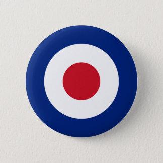 MOD Mode Briten entwerfen Abzeichen - Roller/Vespa Runder Button 5,7 Cm