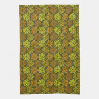 Mod-Ringelblumen-Blumenmuster-Küchen-Tuch Küchentuch