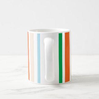 Mod-Streifen-Kaffee-Tasse Kaffeetasse