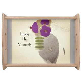 Mod-Zen-Blume-Kunst (c) Sand-LG-Serving_Vanity Serviertablett