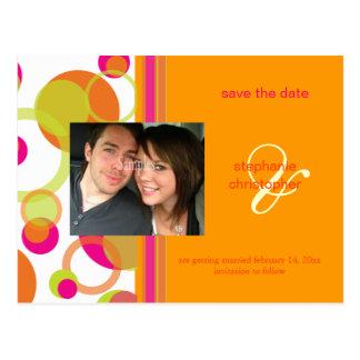 Modblasen, Save the Date Fotopostkarten, Postkarte