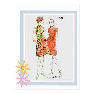 Mode 1976 postkarte