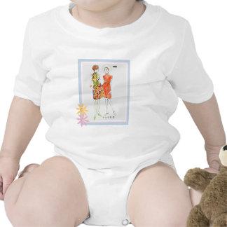 Mode 1976 baby strampelanzug