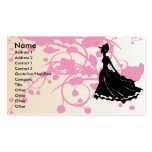 Mode-Butike oder Salon-Geschäfts-Karte Visitenkarten