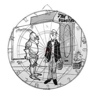 Mode-Cartoon 1769 Dartscheibe