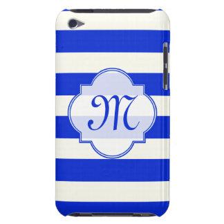 Mode der blauen Streifen iPod Case-Mate Hülle