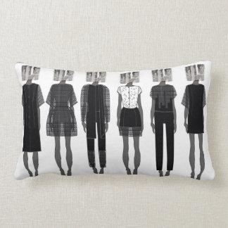 Mode-Illustrations-Kissen Lendenkissen