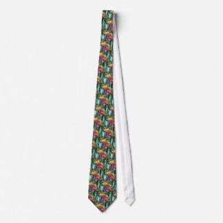 Mode-Kunst-fester glänzender königlicher reicher Krawatte