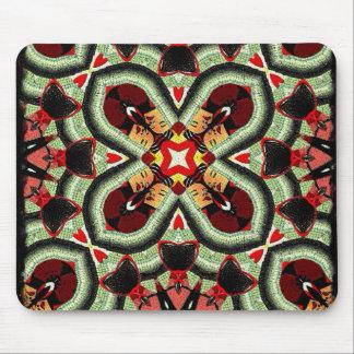 Mode-Mädchen-flippige Collage Mousepads
