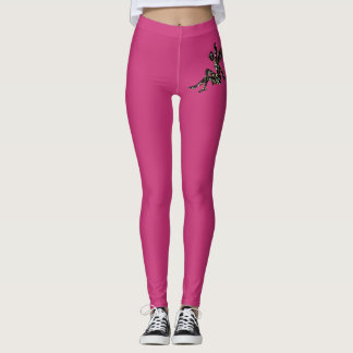 Mode-rosa Gamaschen Leggings