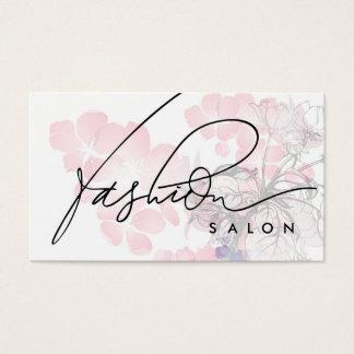 Mode-Salon-Designer-Schönheits-Duft-Karte Visitenkarte