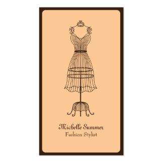 Mode-Stylist-Geschäfts-Karte Visitenkarten