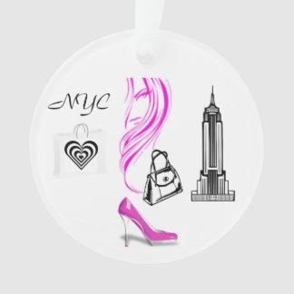 Mode-Thema-New- York Cityverzierung Ornament