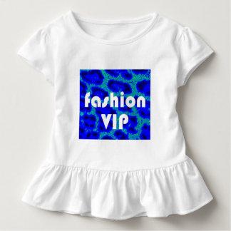 Mode VIP auf blauem Kleinkind T-shirt