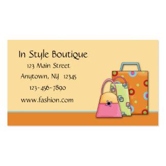 Mode-Visitenkarte