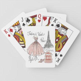 Mode-Wochen-Art wilden Apples | Paris Spielkarten